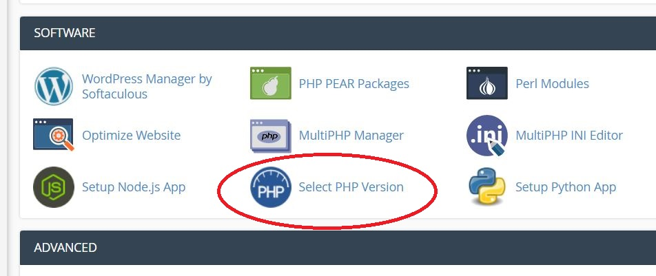 PHP version Change in cPanel - Web Hosting Sri Lanka